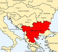 Macedonian Flag The Country Formerly Known As The Former Yugoslav Republic Of