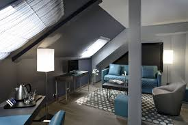 deco chambre sous comble déco salon sous combles exemples d aménagements