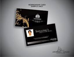 Hotel Business Card Graphic Design U2022 Photography Sample Chrome Hotel India Logo