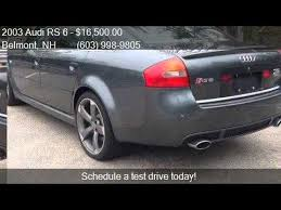 2003 audi rs6 for sale 2003 audi rs 6 quattro awd 4dr turbo sedan for sale in belmo