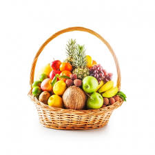 fruit in a basket assortment of fresh fruits in a basket china delivery