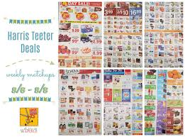 harris teeter deals weekly list and coupon matchups 8 2 8 8