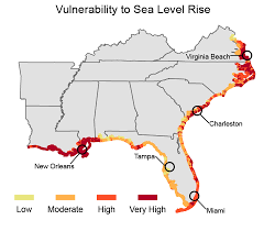 louisiana map global warming climate impacts in the southeast climate change impacts us epa