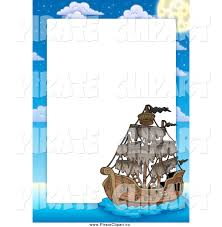 royalty free border stock pirate designs