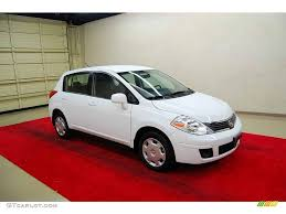 grey nissan versa hatchback 2008 fresh powder white nissan versa 1 8 s hatchback 14215856