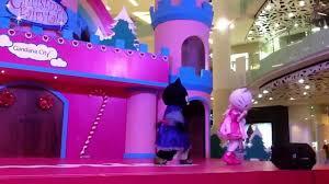Hello Kitty Christmas Lights by Hello Kitty In Christmas Fairytale Gandaria City Youtube