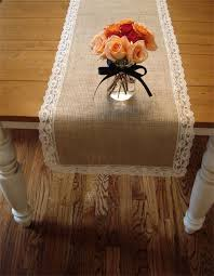Burlap Lace Table Runner 22 Rustic Burlap Wedding Table Runner Ideas You Will Love