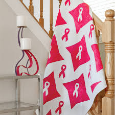 pink ribbon fabric go pink ribbon awareness quilt pattern accuquilt