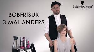 Bob Frisur Stylen by So Stylen Sie Eine Kurze Bobfrisur Dreimal Anders