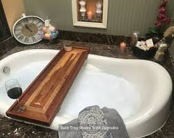 bathtub caddy etsy