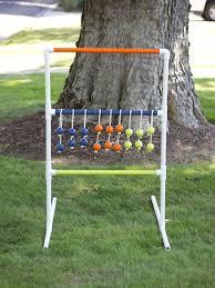 Golf Net For Backyard by Diy Pvc Pipe Ladder Golf Game