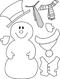 coloring pages christmas snowman coloring pages free printable