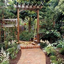 How To Build A Covered Pergola by Build A Traditional Entry Arbor Arbors Gardens And Backyard