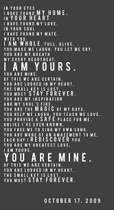 i am yours you are mine frame this with your own wedding date