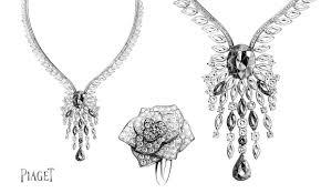 piaget bijoux luxe dessinateur et illustrateur dans le domaine du luxe