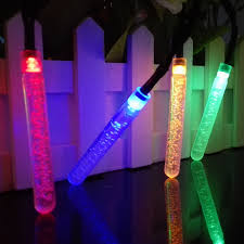 solar powered led outdoor decoration icicle lights led