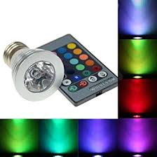 Color Led Light Bulbs Rgb Led Light Bulbs And Remote Control Colour Changing Rgb Led