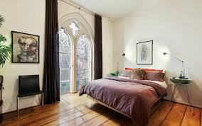 Gothic Style Bed Frame by 2 2m Brooklyn Heights Loft With Gothic Style Stained Glass