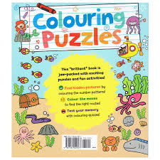 colouring puzzles hidden pictures mazes and more bms wholesale