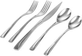 J A Henckels Kitchen Knives Henckels Flatware 45 Piece Villa Bella Set