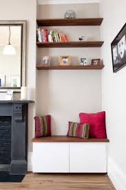 3161 best house to a real home images on pinterest house alcove seat kitchen cabinet reading nook more shelves above