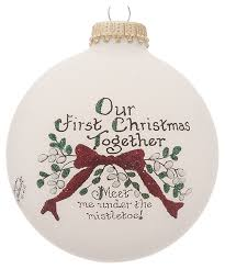 our together personalized ornament