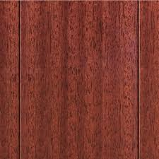 engineered hardwood wood flooring the home depot high gloss santos mahogany 3 8 in t x 4 3 4
