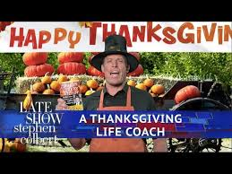 stephen colbert provides late show thanksgiving cooking tips
