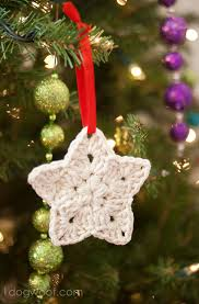 crochet ornament pattern one woof
