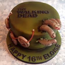 walking dead cake ideas walking dead cake