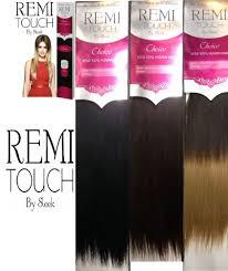 European Weave Hair Extensions by Sleek Remi Touch European Weave Human Hair Extension 12inch