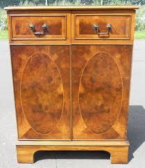 Small Two Door Cabinet Sold Small Walnut Two Door Cabinet Cupboard