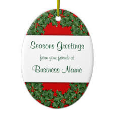 corporate greetings ornaments u0026 keepsake ornaments zazzle