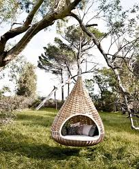 Hanging Chair Hammock Outdoor Wicker Furniture Collection From Dedon Innovative Outdoor