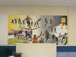 design 720540 sports murals sports murals by andrew goralski sports mural by laystilllikethedead on deviantart sports murals funkshonalartadult