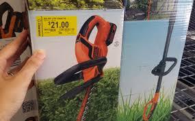 target black friday trimmer deals clearance garden tools b u0026d hedge trimmer only 21 at walmart