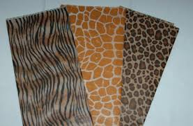 cheetah print tissue paper animal print tissue paper from everydayaholiday on etsy studio