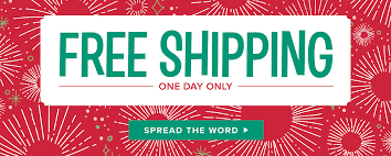 only a few more hours of free shipping clay ornaments just