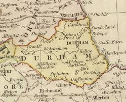 map of county history of county durham map and description for the county