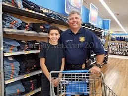 shop with a cop for back to school items thebaynet