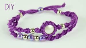 bracelet macrame images Macrame double bracelet tutorial jpg