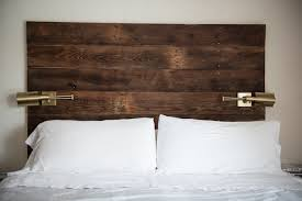 Headboard Made From Pallets Bedroom Appealing Related Posts Diy Black Pallet Wood Headboard