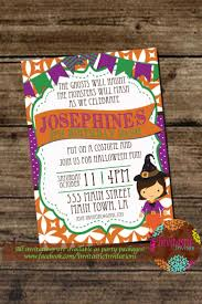 Halloween Party Invite Poem 30 Best Halloween Birthday Party Invitations Images On Pinterest