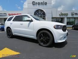 Dodge Durango White - 2013 dodge durango sxt blacktop awd in bright white 679889 all
