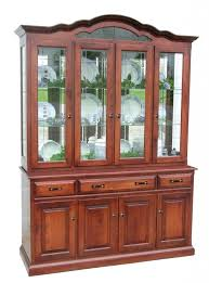 solid oak china cabinet amish dining room hutch traditional china cabinet solid wood