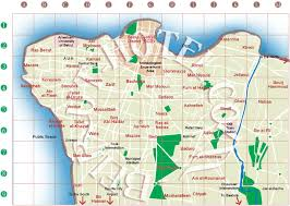 beirut on map beirut cities in lebanon map of beirut