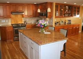 maple kitchen island traditional maple kitchen with white island traditional kitchens