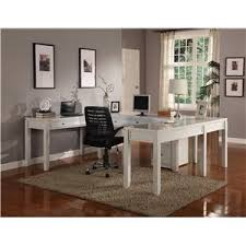 parker house boca three piece l shaped desk wayside furniture