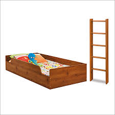 Logik Twin Loft Top Bunk Bed And Ladder In Pine By South Shore - South shore bunk bed