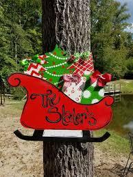 Outdoor Christmas Decoration Hangers by 245 Best Christmas Ornament Door Hanger Images On Pinterest